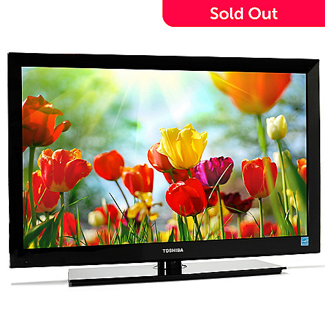 440-278 - Toshiba Ultra-Slim 32'' 720p Smart LED HDTV w/ Built-in Wi-Fi
