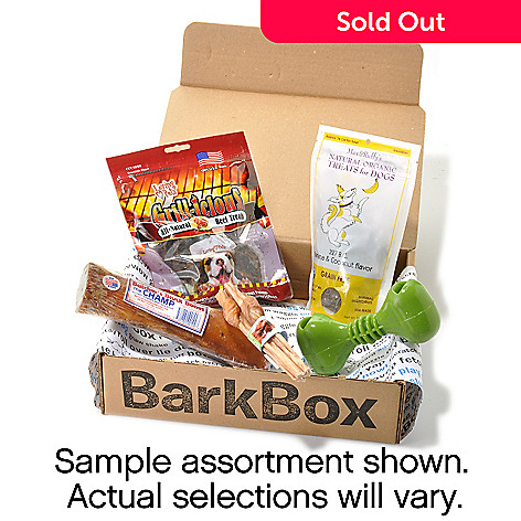 440-283 - BarkBox Assorted Dog Treat & Goody Package Auto Delivery Program