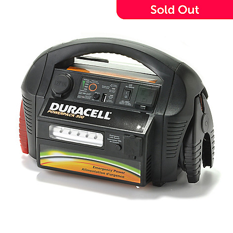 440-331 - Duracell® 300 Watt Powerpack w/ USB Port