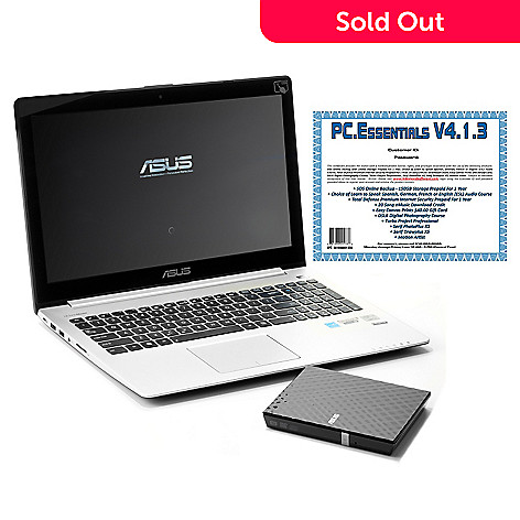 440-347 - ASUS 15.6'' Core i3 Touch Screen 4GB RAM/500GB HDD Ultrabook w/ Disc Drive & Software