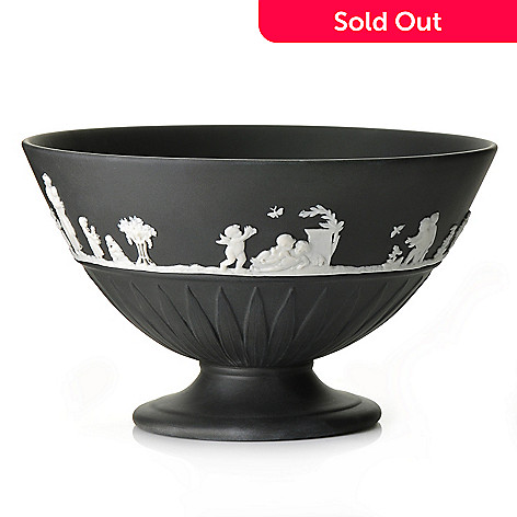 440-406 - Wedgwood® 7'' Jasperware Footed Bowl - Signed by Lord Wedgwood