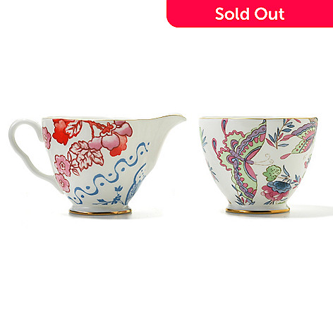 440-409 - Wedgwood® Two-Piece 2.5'' Bone China Creamer & Sugar Set