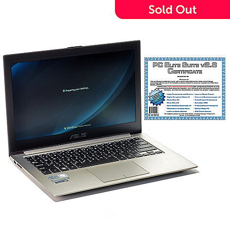 440-488 - ASUS Zenbook 13.3'' Intel® Core™ i3 4GB RAM/500GB HDD Ultrabook w/ Software