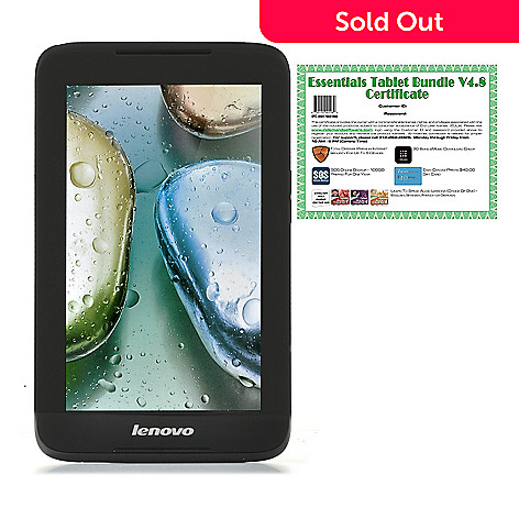440-582 - Lenovo 7'' IdeaTab Android® 4.1 8GB Bluetooth® & Wi-Fi Tablet w/ Software