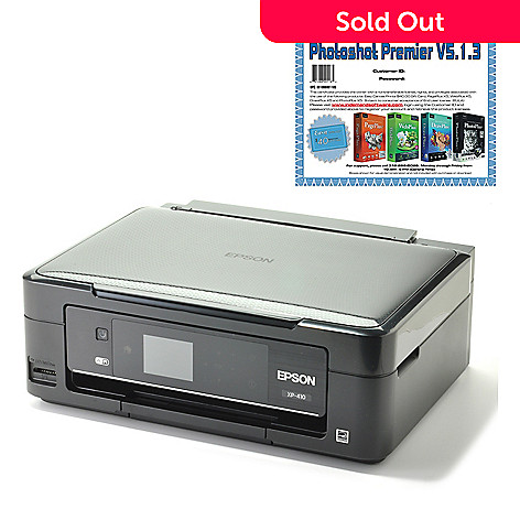 440-590 - Epson Expression Home 3-in-1 Wi-Fi Printer w/ Software