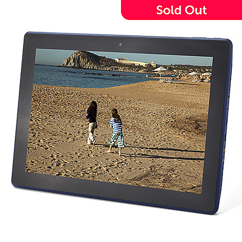 440-600 - Ematic 13.3'' 8GB Dual-Core Android™4.1 CinemaTab Tablet w/ Stand