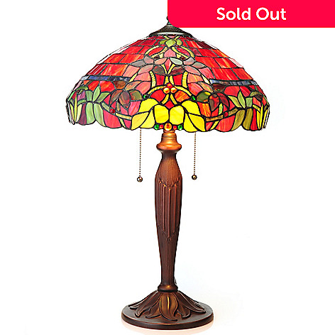 Tiffany Style Hampstead Choice Of Stained Glass Sconce