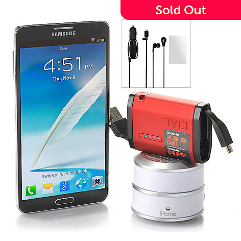 441-053 - Samsung Galaxy Note 3 - 4G LTE Phone/Accessories T-Mobile No Annual Service Contract