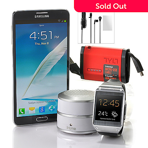 441-054 - Samsung Galaxy Note 3-4G LTE Phone/Galaxy Watch & T-Mobile No Annual Service Contract