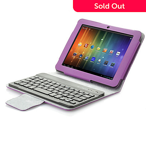441-225 - Proscan 8'' or 10'' Google Certified Android™ 4.1 Dual-Core Tablet & Bluetooth® Keyboard