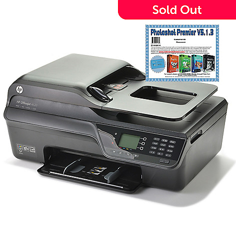 441-229 - HP Officejet All-in-One Wi-Fi Printer w/ Photoshot Premier Software