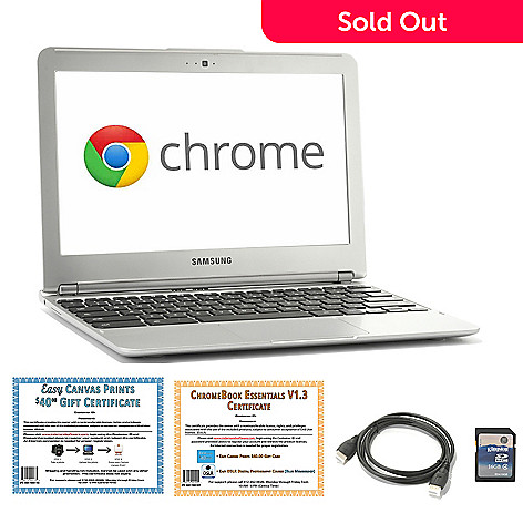 441-460 - Samsung 11.6'' Dual 1.7GHz Google Chromebook w/ HDMI Cable, Software & 16GB MicroSD Card