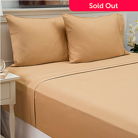441-480 - North Shore Living™ 800TC Cotton / Poly Blend Easy Care Four-Piece Sheet Set