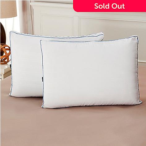 441-521 - Cozelle® 220TC Nano-Tex® Gel-Fiber & Memory Foam Pillow Pair