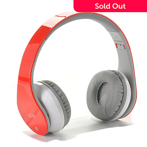 441-671 - iLive™ Bluetooth® Wireless On-Ear Headphones w/ Built-in Mic