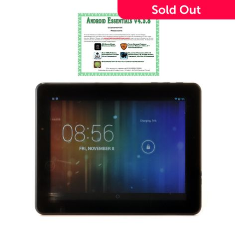 "TRAVELTEK Android™ 4.2 9.7"" LCD Dual-Core 4GB Wi-Fi Tablet w/ Google"