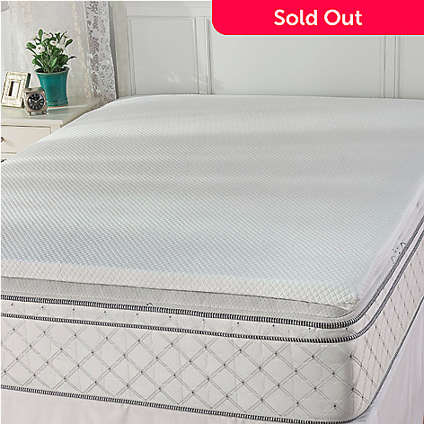 441-730 - Cozelle® 2'' Gel Infused Memory Foam Mattress Topper
