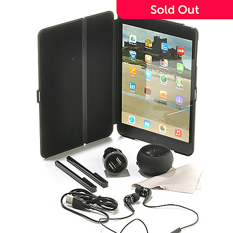 441-749 - Apple® iPad® Mini 7.9'' LED 16GB iOS Wi-Fi Tablet w/ Bluetooth&reg & Accessories Kit
