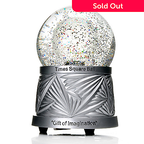441-819 - Waterford 2014 Times Square Ball 6'' Glass Snowglobe
