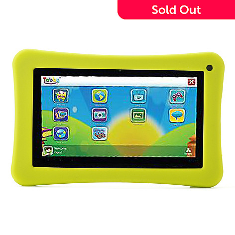 442-093 - Tabby 7'' LCD 4GB Android™ 4.1 Dual-Core Wi-Fi Tablet w/ Silicone Protective Case
