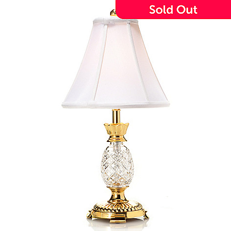 442-442 - Waterford® Crystal 20'' Hospitality Mini Accent Lamp
