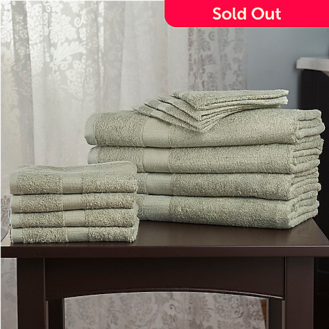 442-626 - Cozelle® Viscose from Bamboo/Cotton 12-Piece Towel Set