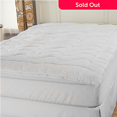 442-773 - Cozelle® 1.5'' Gusseted Stain & Water Resistant Vita Fiber Mattress Topper