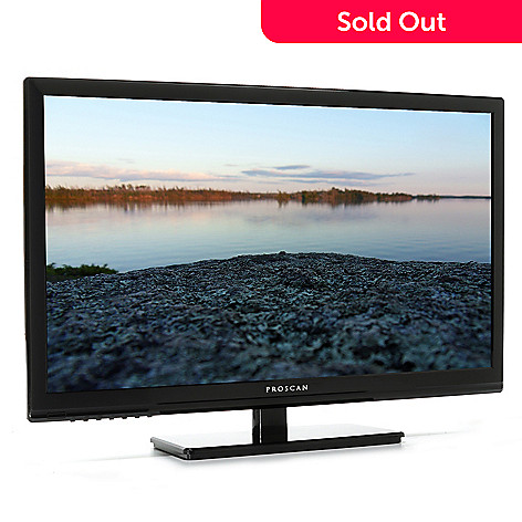 443-988 - Proscan 24'' LED HDTV w/ Built-in DVD Player & HDMI Port