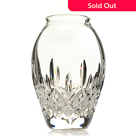 444-211 - Waterford Crystal Lismore Candy 5'' Diamond & Wedge Cut Bud Vase