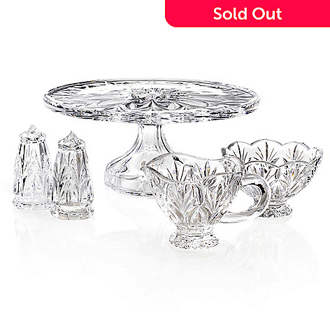 444-523 - Marquis by Waterford Canterbury Five-Piece Crystalline Tabletop Set
