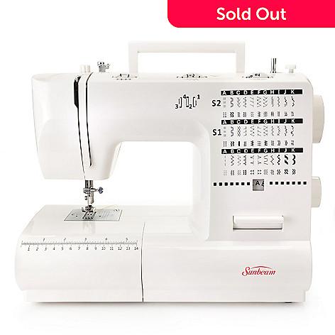 444-947 - Sunbeam™ 70W Domestic 70-Stitch Sewing Machine