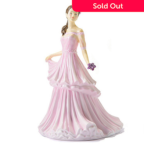 445-375 - Royal Doulton Pretty Ladies ''Michelle'' 9.25'' Bone China Figurine -Signed