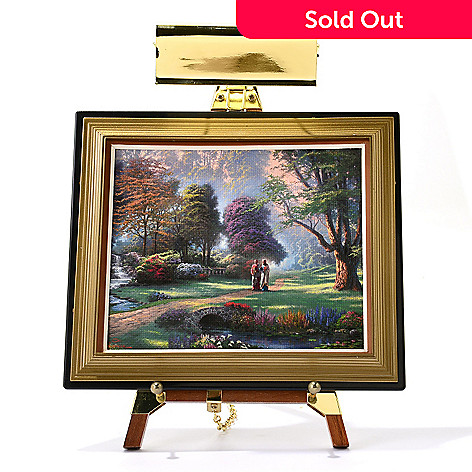 445-412 - Thomas Kinkade Mini Masters® 13-Piece ''Spiritual Collection'' Set w/ Easel & Keepsake Box