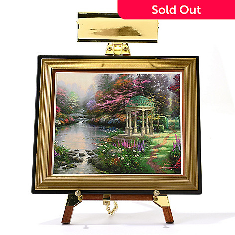 445-414 - Thomas Kinkade Mini Masters® 13-Piece ''Garden Collection'' Set w/ Easel & Keepsake Box