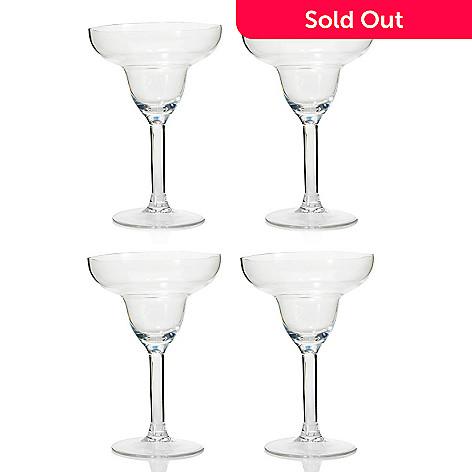 445-415 - Cook's Companion® Set of Four Shatter-Resistant 11 oz Tritan™ Margarita Glasses