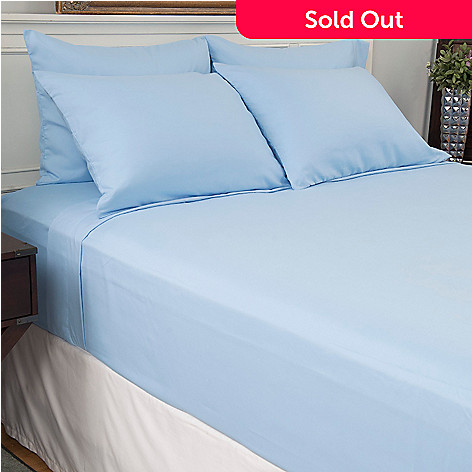 445-434 - Cozelle® Microfiber Solid Six-Piece Sheet Set