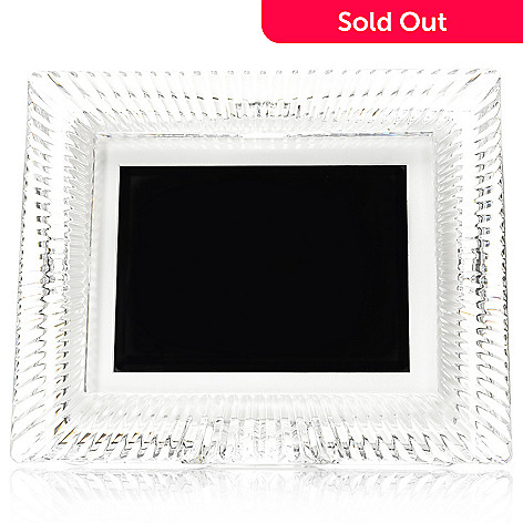 446-045 - Waterford® Crystal Somerset 8'' Digital Photo Frame w/ Memory Card