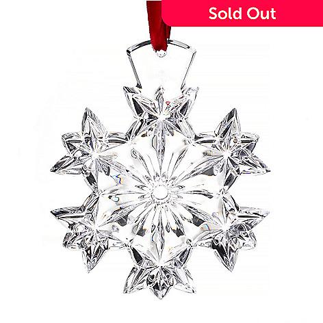 447-326 - Waterford Crystal 4'' Snowflake Ornament