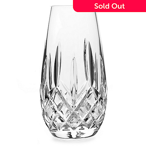 447-356 - Waterford Crystal Lismore 6'' Wedge & Diamond Cut Bud Vase