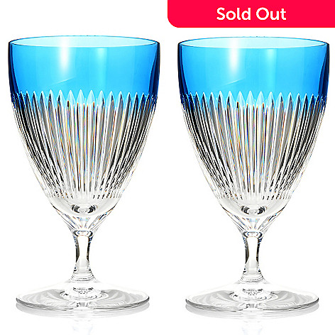 447-359 - Waterford Crystal Mixology Set of Two 10 oz All Purpose Glasses