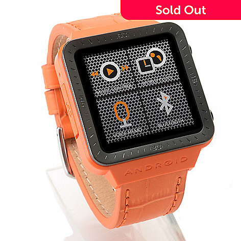 447-376 - Android 1.54'' LCD Touch Screen Digital Display Quartz SmartWatch™ w/ Micro-USB Port