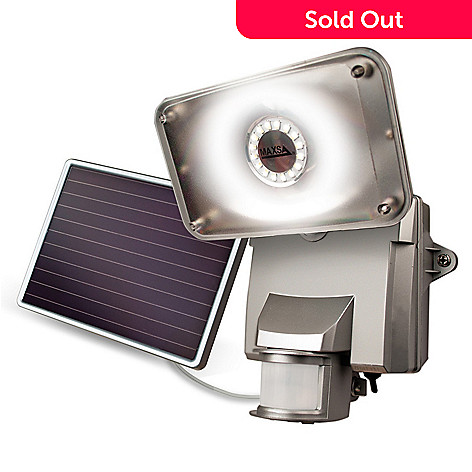 447-861 - MAXSA® Innovations 878 Lumen 16 LED Motion-Activated Solar Power Security Light