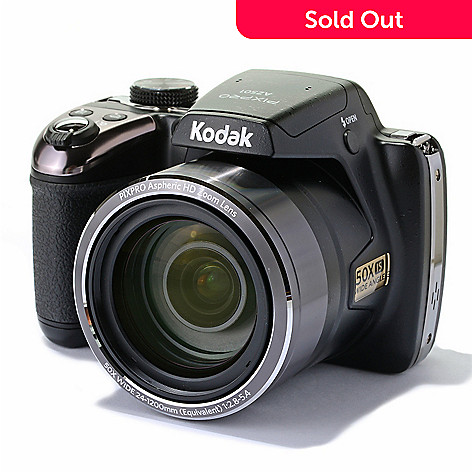448-399 - Kodak PIXPRO 16MP 50x Optical Astro Zoom 24mm CMOS Digital Camera
