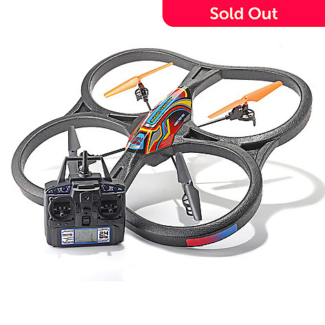 448-484 - Panther Drone UFO 2.4GHz Gyro Quadcopter w/ 4.5-Channel Radio Control