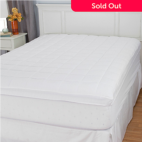 448-669 - SensorLOFT 300TC 100% Cotton Mattress Pad