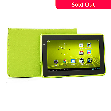 448-909 - D2® 7'' 4GB Google Certified Android™ 4.1 1GHz Wi-Fi Tablet w/ Folio Case