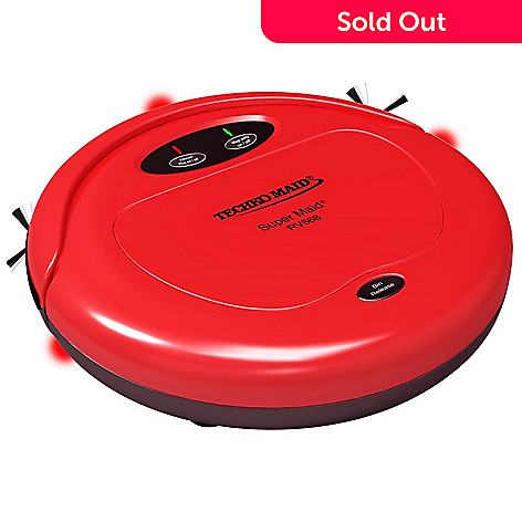 449-299 - Techko Maid® Super Maid&reg 3-in-1 High Speed Robotic Cleaner w/ Cleaning Cloths