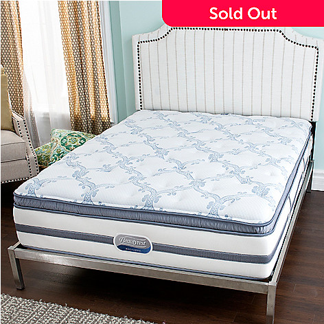 449-748 - Beautyrest® Recharge® ''Stars & Stripes'' Plush Pillow Top Mattress
