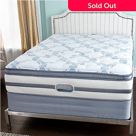 449-749 - Beautyrest® Recharge® ''Stars & Stripes'' Plush Pillow Top Mattress Set