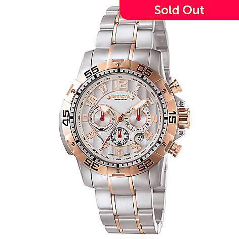601-668 - Invicta Men's Signature Sport Quartz Chronograph Ceramic Dial Watch